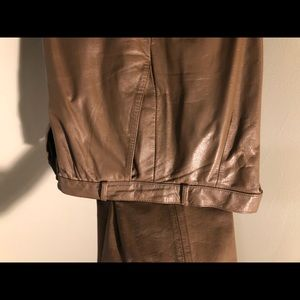 Avanti leather pants